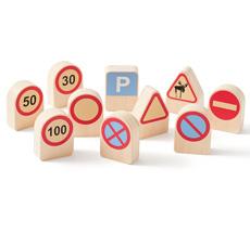 Kids Concept Verkehrszeichen Aiden 10 Stück