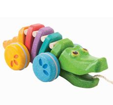 PlanToys Regenbogen Krokodil