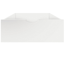 Sebra Bettschublade für das Baby & Junior Bett Classic White •