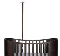 Leander Himmelgestell für Classic Babybett Walnuss