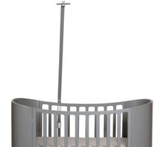 Leander Himmelgestell für Classic Babybett Grau