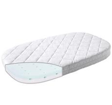 Leander Matratze für Classic Babybett Comfort Weiß
