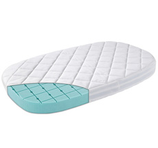 Leander Matratze für Classic Babybett Premium Weiß