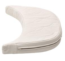 Leander Matratzenverlängerung für Babymatratze für Classic Baby-Juniorbett Natural Weiß