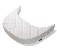 Leander Matratzenverlängerung für Babymatratze für Classic Baby-Juniorbett Comfort/Premium Weiß