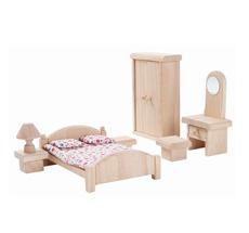 PlanToys Puppenhaus Schlafzimmer Classic