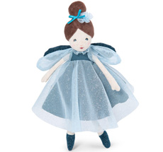 Moulin Roty Puppe Fee Blau