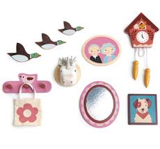 Tender Leaf Toys Wanddeko für Puppenhaus