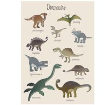 Sebra Poster Dino