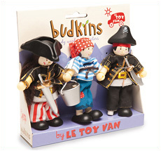 Le Toy Van Holzpuppen Piraten 3er-Set