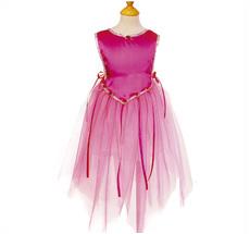 Kostüm Tunikakleid Fee Pink 4 - 6 Jahre