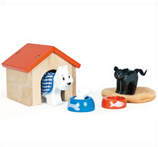 Le Toy Van Spielhaus Set Hund und Katze