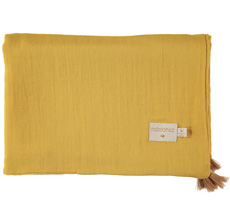 Nobodinoz Decke Treasure Summer 100X70 Farniente Yellow