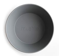 Mushie Schüssel Rund Smoke