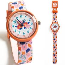 Djeco Armbanduhr Blumen