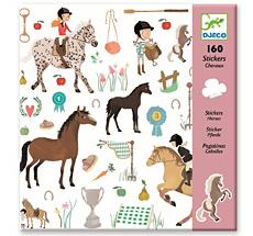 Djeco Sticker Pferde