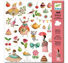 Djeco Sticker Prinzessin Teestunde
