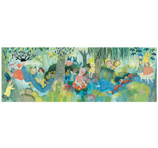 Djeco Puzzle Gallerie River Party - 350 Teile