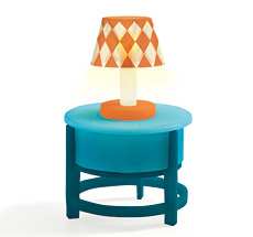 Djeco Puppenhaus Light on the Table