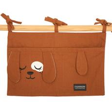 Roommate Tasche für das Kinderbett Dog Bio-Baumwolle