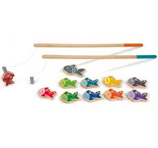 Janod Magnet-Angelspiel Holz Let's go Fishing