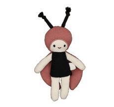 Fabelab Püppchen Pocket Friend Ladybug Bio-Baumwolle
