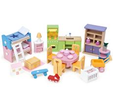 Le Toy Van Puppenhaus Starter Möbel Set