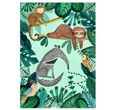 Petit Monkey Poster Ameisenbär & Faultier