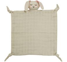 Roommate Kuscheltuch Bunny  Grey Bio-Baumwolle