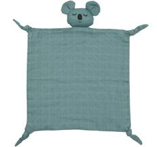 Roommate Kuscheltuch Koala Sea Grey Bio-Baumwolle
