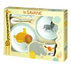 Petit Jour Paris Geschirr-Set Savanne 5-teilig