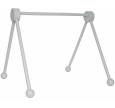 JaBaDaBaDo Spieltrapetz aus Holz Grau