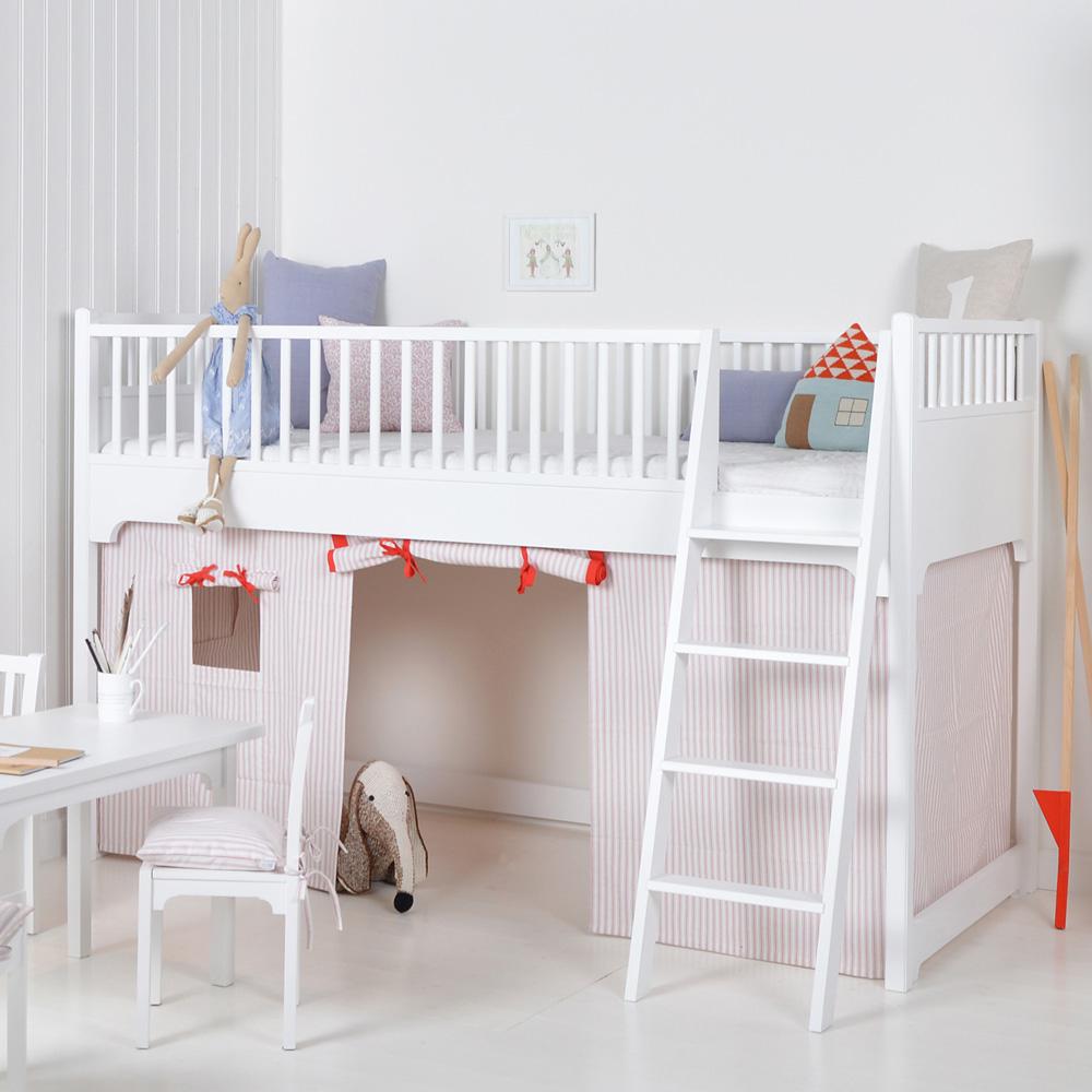 oliver furniture halbhohes hochbett seaside online kaufen emil paula kids. Black Bedroom Furniture Sets. Home Design Ideas