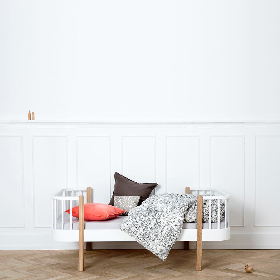 Oliver Furniture Junior Und Kinderbett Wood Weiß Mit Eiche Online