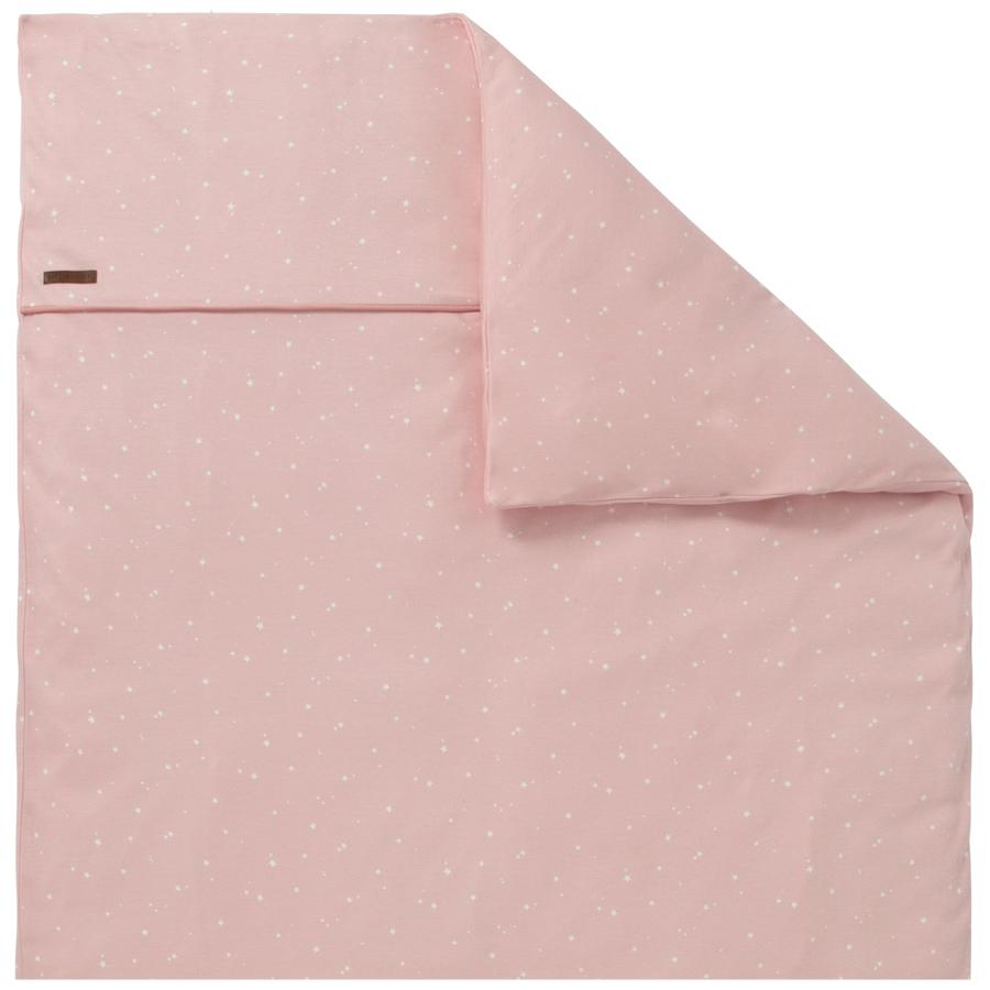 little dutch kinderwagen kissenbezug 80x80 little stars pink online kaufen emil paula kids. Black Bedroom Furniture Sets. Home Design Ideas