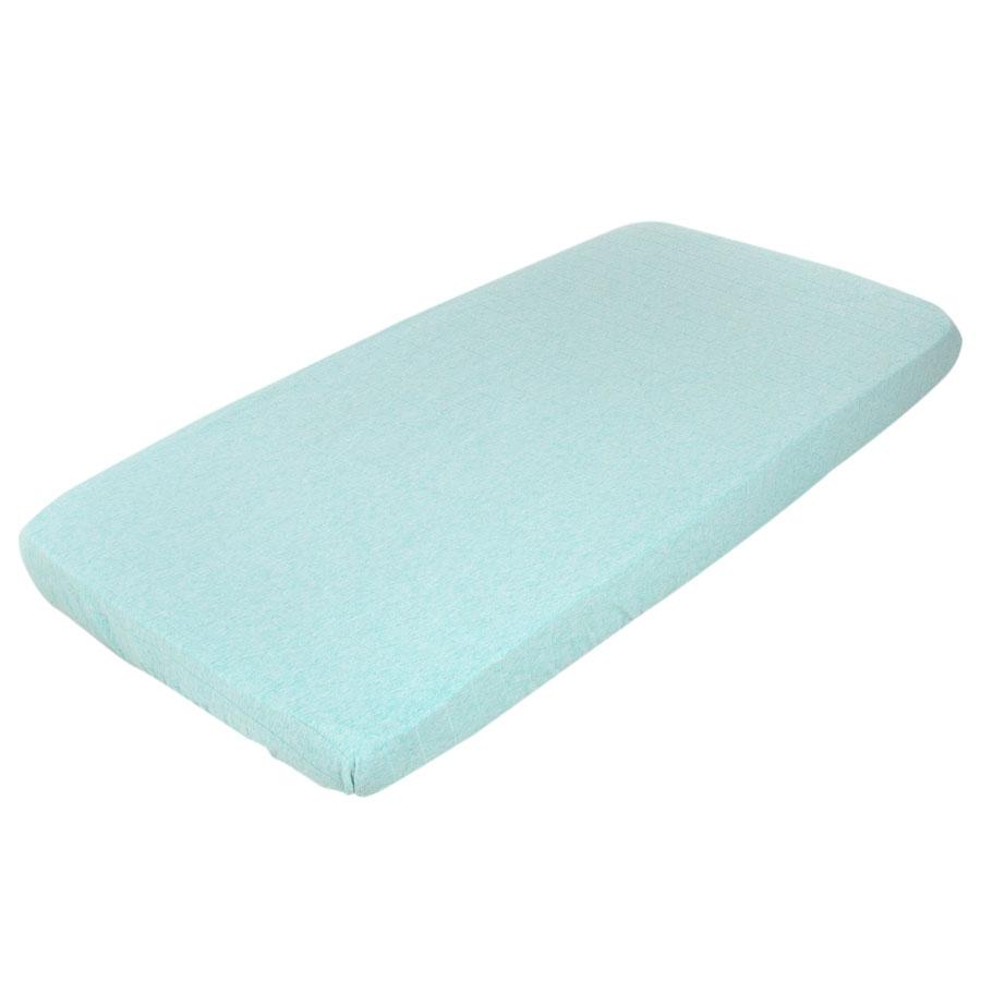 little dutch spannbetttuch 60x120 mint melange online kaufen emil paula kids. Black Bedroom Furniture Sets. Home Design Ideas