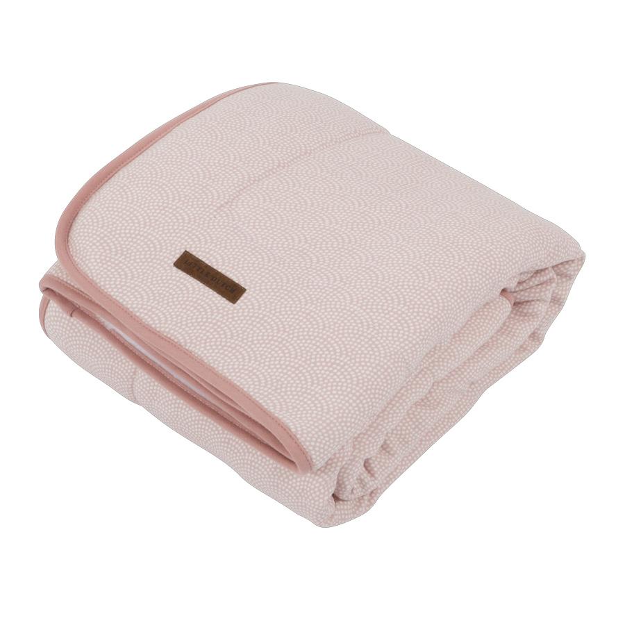 826428c13a8135 Little Dutch Wiegedecke Pure & Soft Pink Waves online kaufen   Emil ...