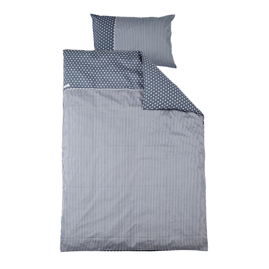 little dutch bettw sche sterne grau online kaufen emil. Black Bedroom Furniture Sets. Home Design Ideas