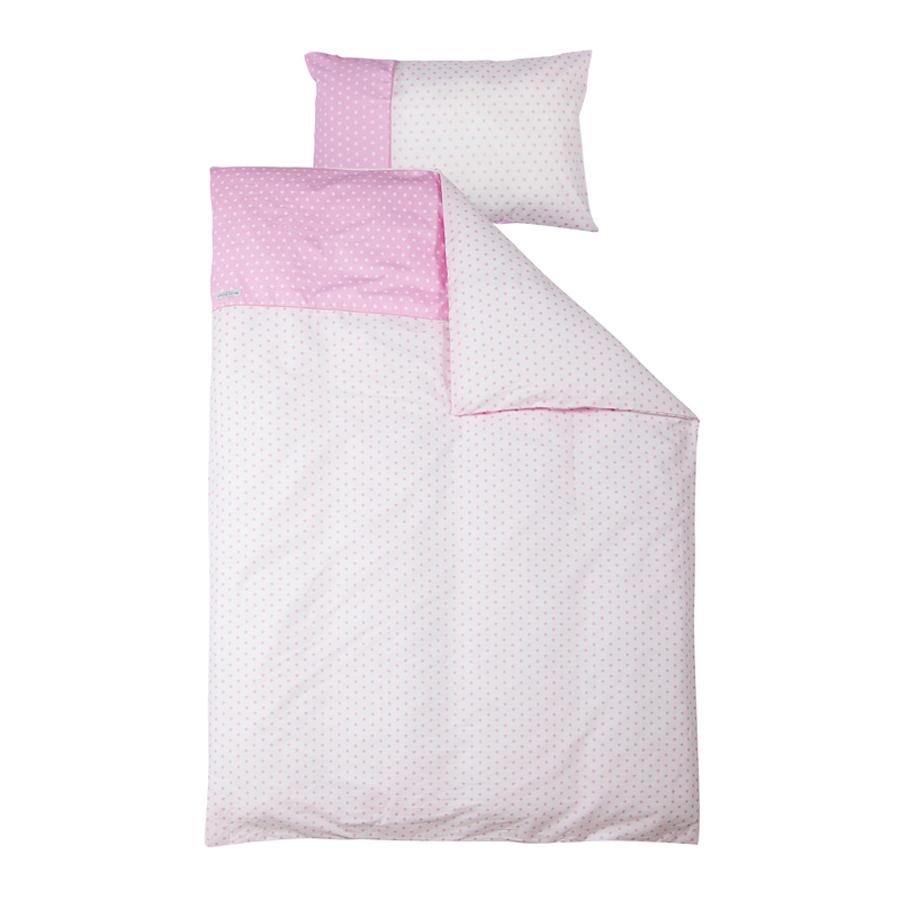 little dutch bettw sche sterne rosa online kaufen emil paula kids. Black Bedroom Furniture Sets. Home Design Ideas