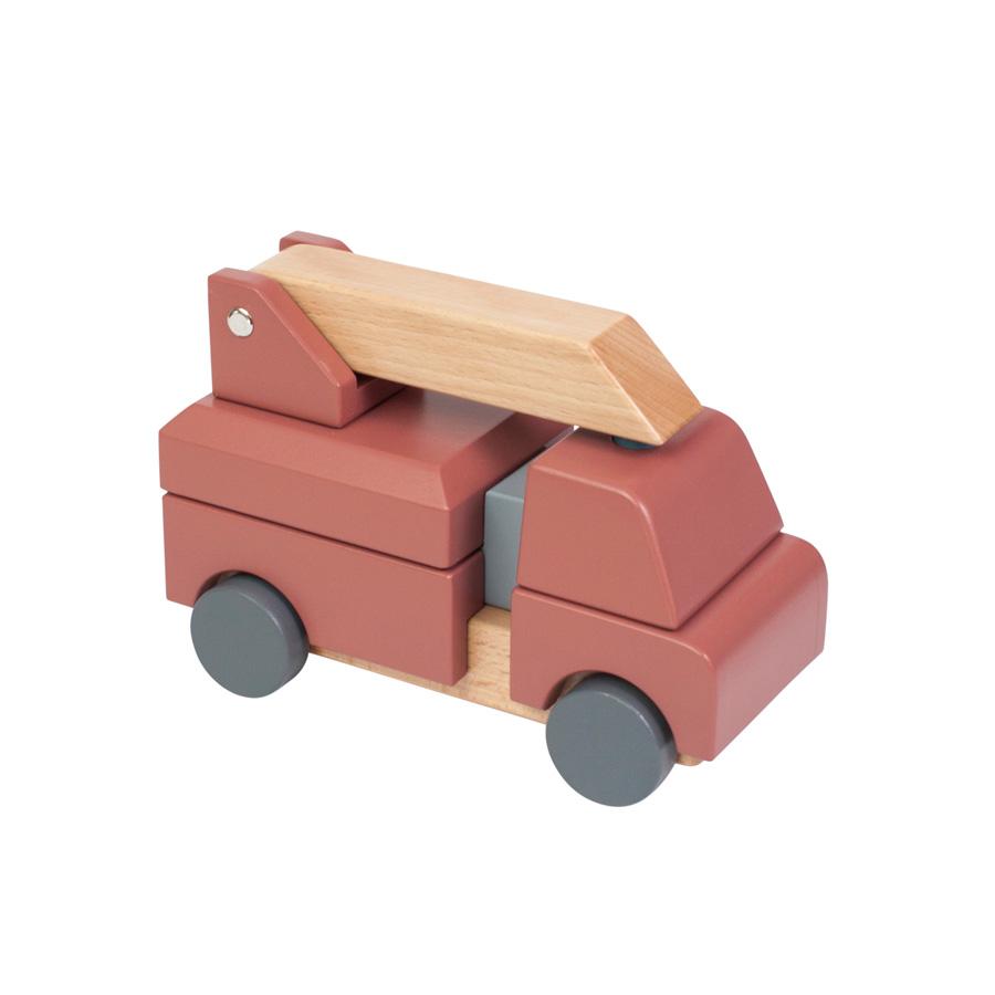Sebra Feuerwehrauto Holz Online Kaufen Emil Paula Kids