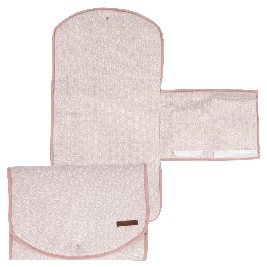4117f989b94662 Little Dutch Wickelmatte Comfort Pink Waves online kaufen   Emil ...