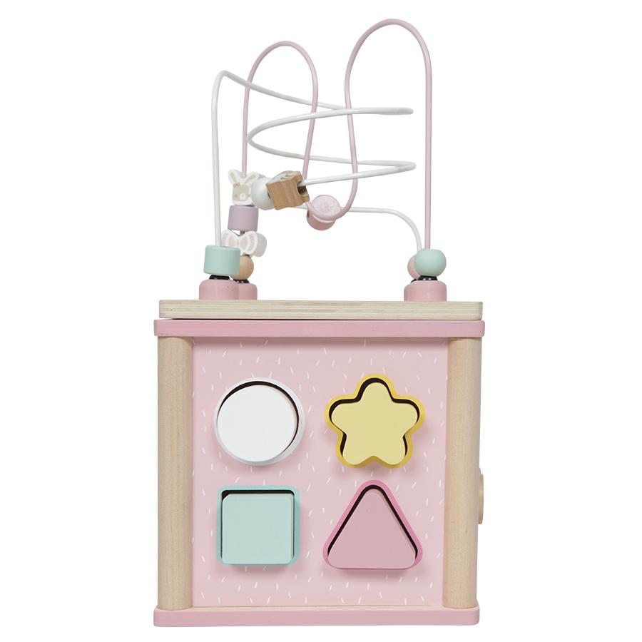 little dutch aktivit ten w rfel adventure pink online kaufen emil paula kids. Black Bedroom Furniture Sets. Home Design Ideas