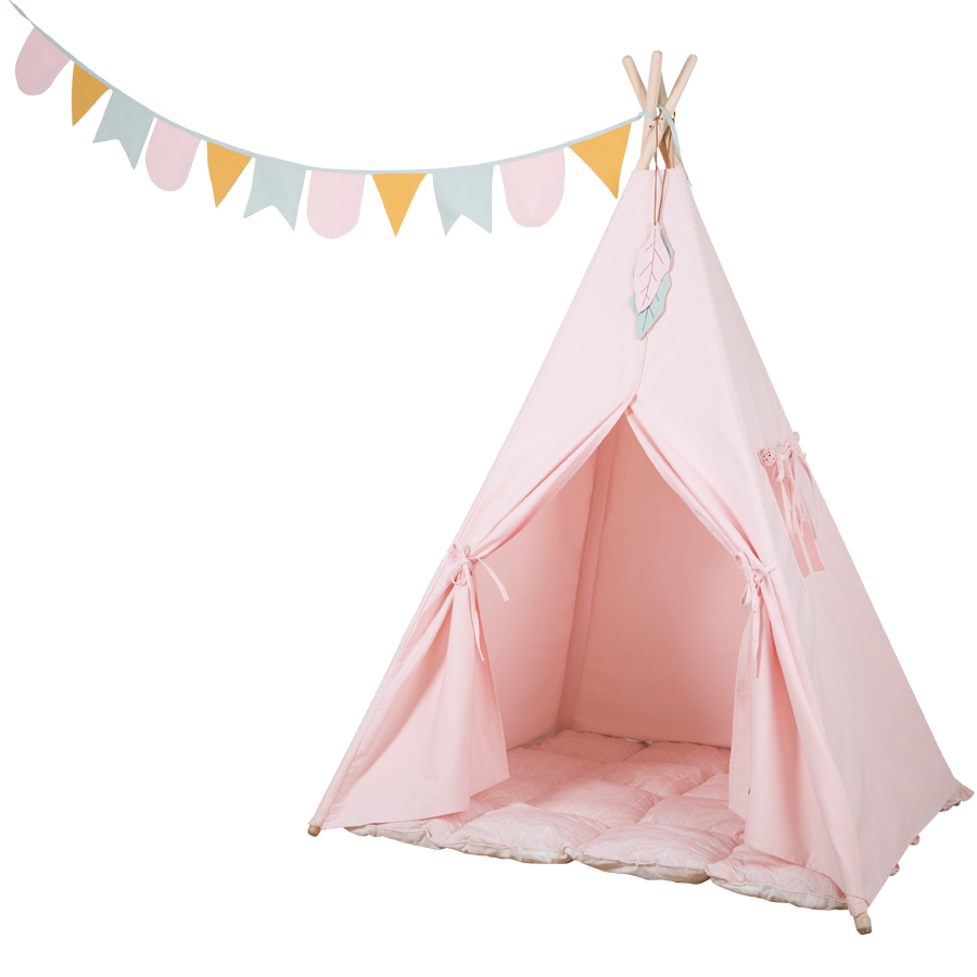 little dutch tipi zelt pink online kaufen emil paula kids. Black Bedroom Furniture Sets. Home Design Ideas