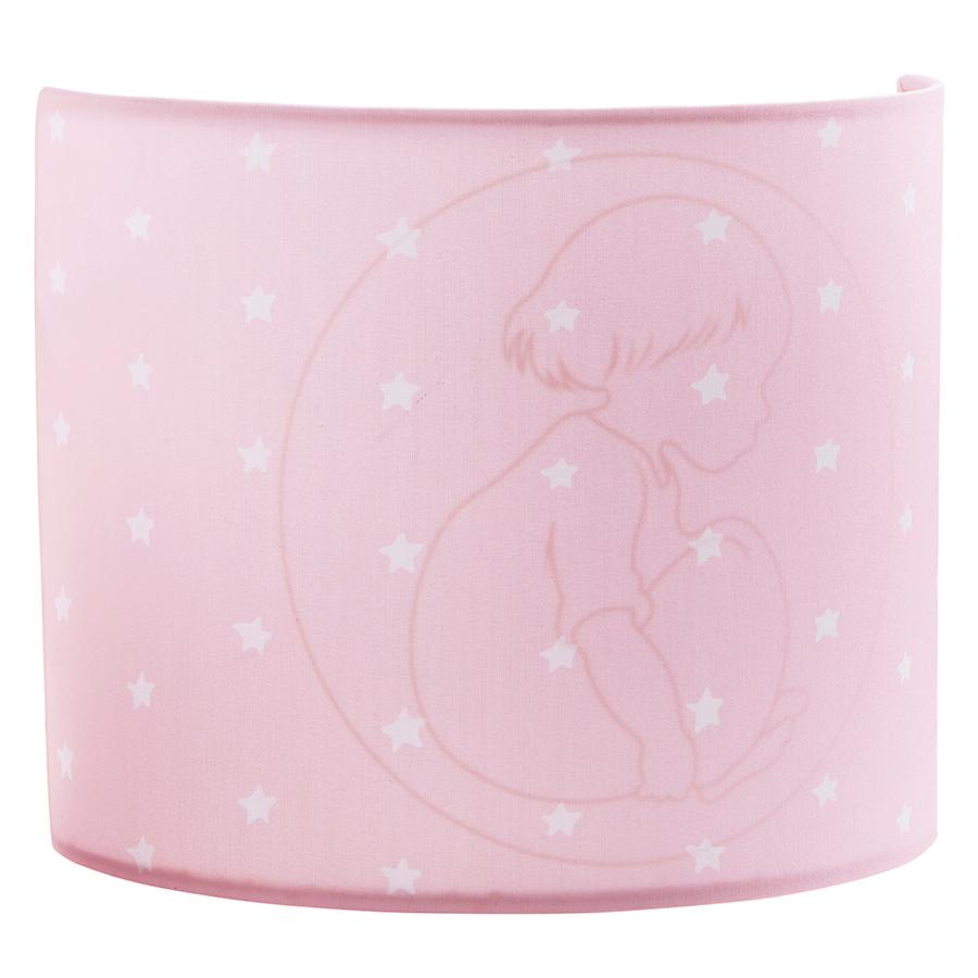 kids concept wandlampe rosa online kaufen emil paula kids. Black Bedroom Furniture Sets. Home Design Ideas
