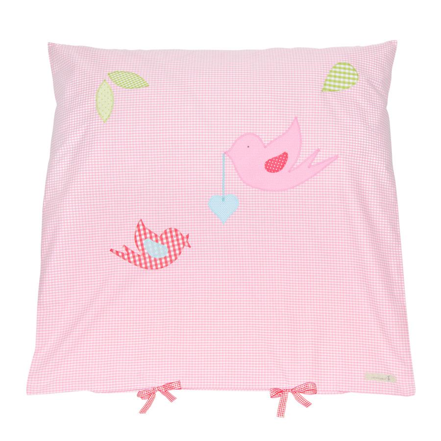 lottas lable kissenbezug f r kinderwagen vogelhochzeit online kaufen emil paula kids. Black Bedroom Furniture Sets. Home Design Ideas