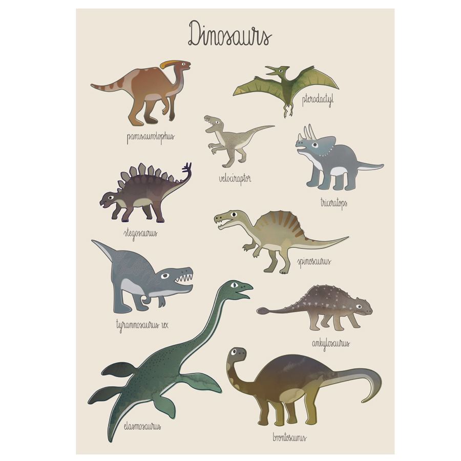 sebra poster dino online kaufen emil paula kids. Black Bedroom Furniture Sets. Home Design Ideas