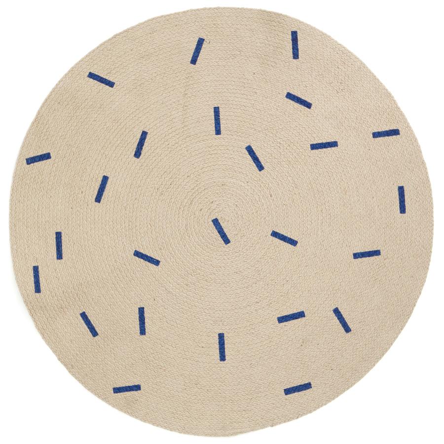 ferm living runder teppich sticks online kaufen emil. Black Bedroom Furniture Sets. Home Design Ideas