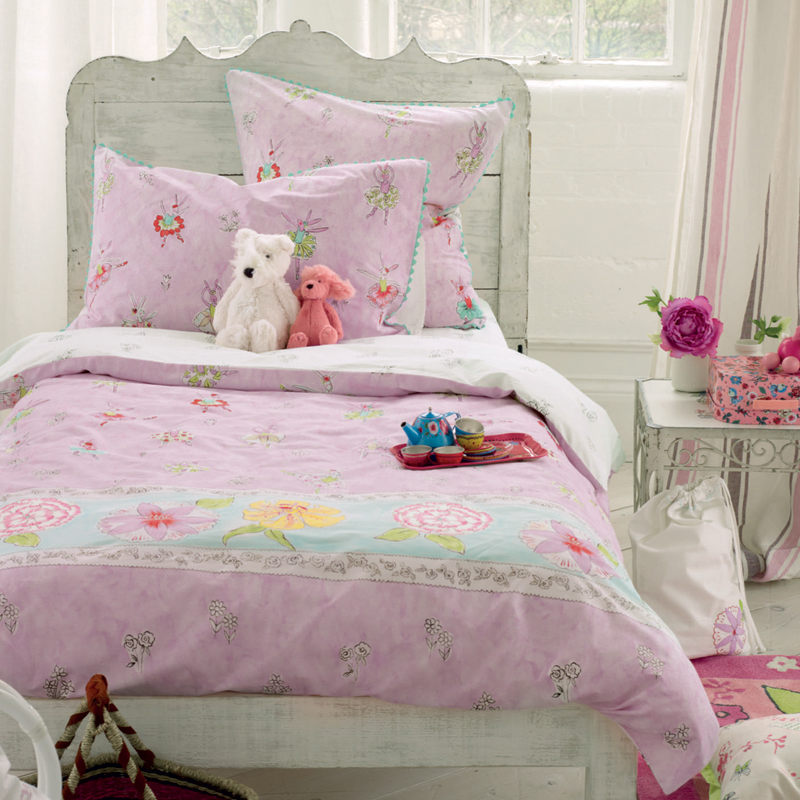 designers guild kinderbettw sche ballerina bunny 100 x 135. Black Bedroom Furniture Sets. Home Design Ideas