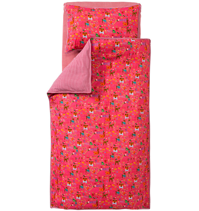 room seven bettw sche lovely to be me klein online kaufen emil paula kids. Black Bedroom Furniture Sets. Home Design Ideas