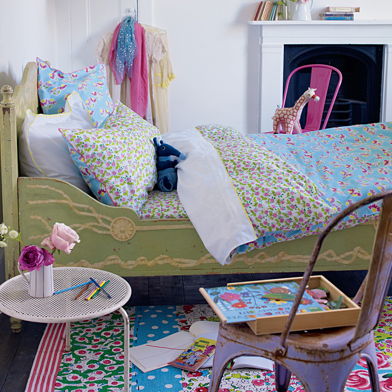 designers guild kinderbettw sche flora online kaufen emil paula kids. Black Bedroom Furniture Sets. Home Design Ideas